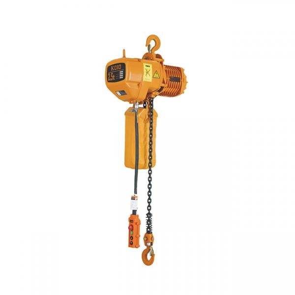 固定式2.5T小型环链电动葫芦