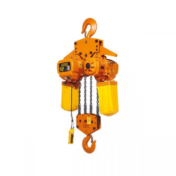 固定式10T小型环链电动葫芦(HHBB10-04S)