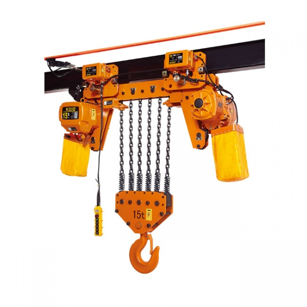超低双速运行式15T小型环链电动葫芦